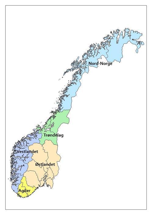 kart over østlandet norge nyheter Archives   Norway DNA Norgesprosjektet kart over østlandet norge