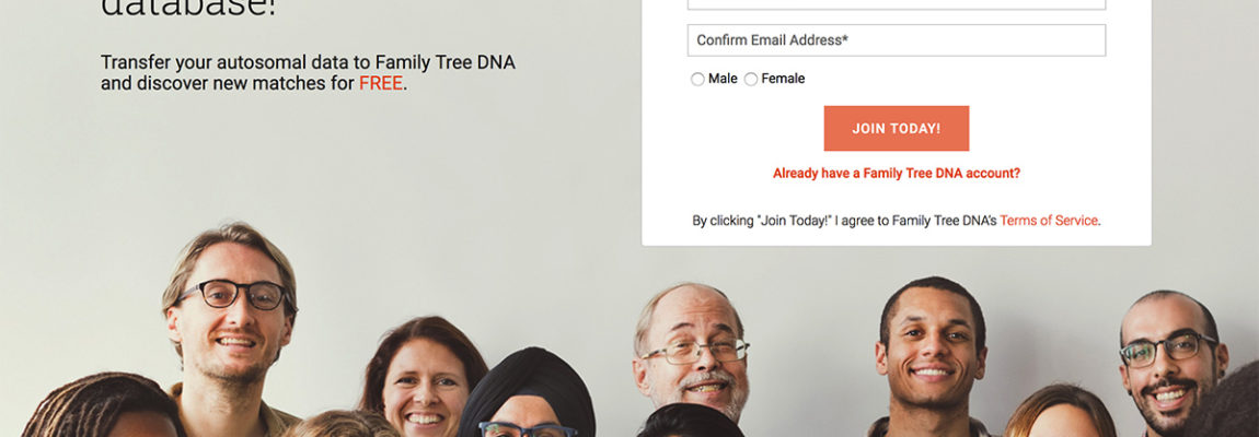 Transfer from 23andMe or Ancestry for free!